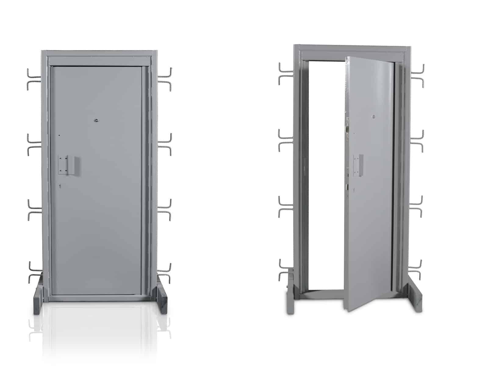 Necesitas puertas de seguridad descubre los materiales - Puertas de piso ...