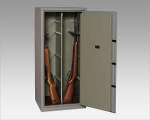Caja fuerte para guardar armas
